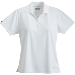 Women's Moreno Text Micro Short Sleeve Polo